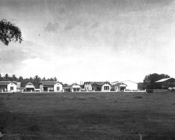 Alun Kerajaan Kadipaten Panjer (Situs Kebun Raja, kini Taman Manunggal Kodim 0709 Kebumen) pasca pembumihangusan Pendopo Agung Panjer oleh Belanda tahun 1831